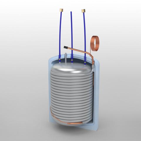 Reservatório de pressão 150L SA