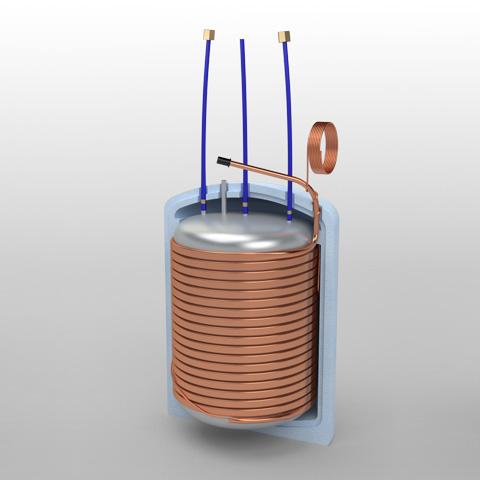 Reservatório de pressão 150L SC