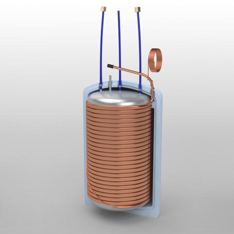 Reservatório de pressão 200L SC
