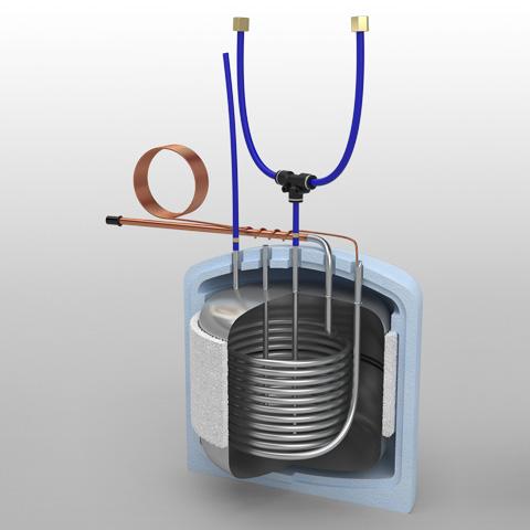 Reservatório de pressão 80L SI