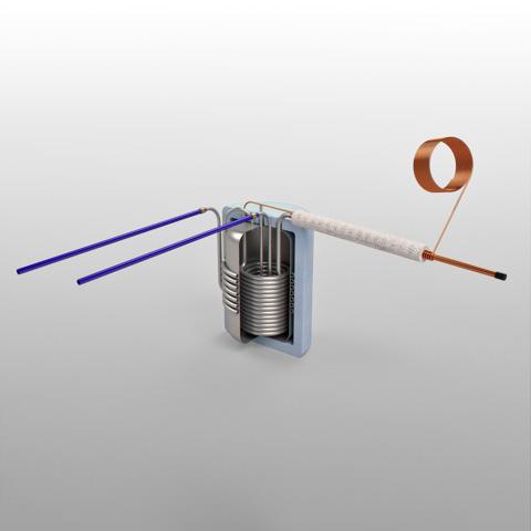 Reservatório de pressão P300 SI - Adaptável ao BDF IBBL®
