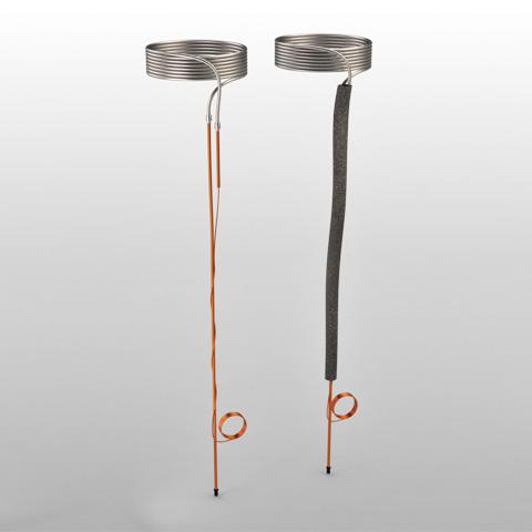 Serpentina em alumínio 7 V. linha de sucção 800 mm